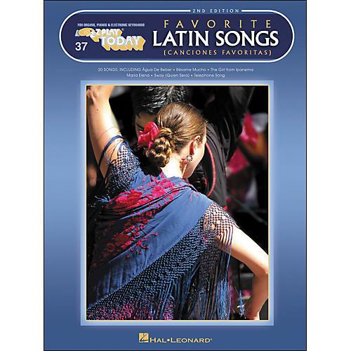 Hal Leonard Favorite Latin Songs 2nd Edition E-Z Play 37-thumbnail