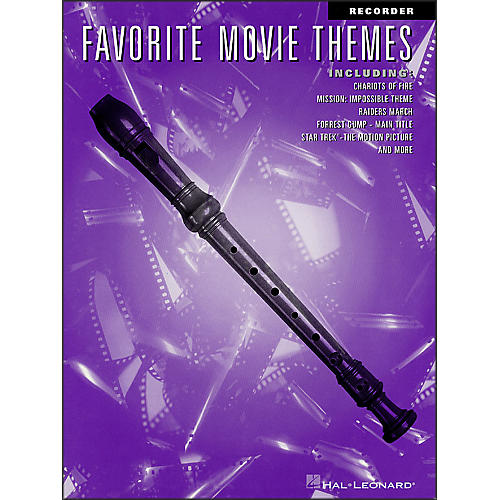 Hal Leonard Favorite Movie Themes for Recorder-thumbnail