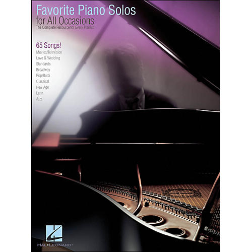 Hal Leonard Favorite Piano Solos for All Occasions-thumbnail
