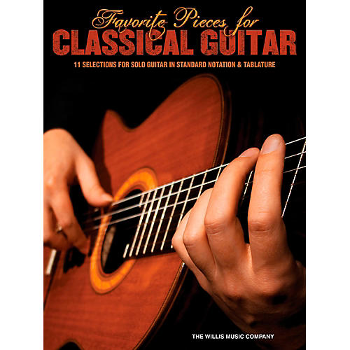 Hal Leonard Favorite Pieces For Classical Guitar  Solo Guitar with Tab-thumbnail