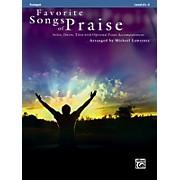 Alfred Favorite Songs of Praise (Trumpet Version)