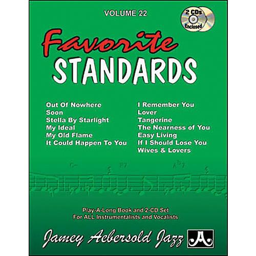 Jamey Aebersold Favorite Standards-thumbnail