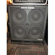 Genz Benz Fcs-410 T Bass Cabinet