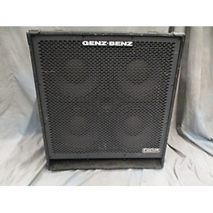 Pre-owned Genz Benz Fcs 410t Bass Cabinet by Genz Benz