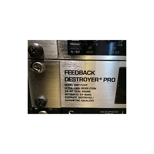 Behringer Feedback Destroyer Pro DSP1124P Feedback Suppressor