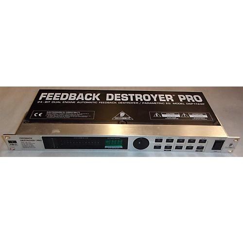 Behringer Feedback Destroyer Pro DSP1124P Feedback Suppressor-thumbnail