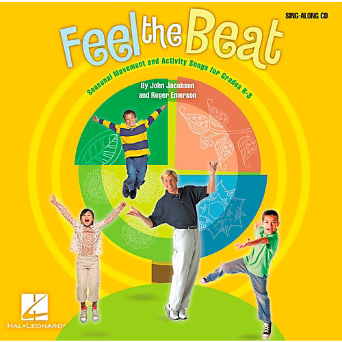 Hal Leonard Feel The Beat! - Seasonal Movement and Activity Songs for Grades K-3 Sing-Along CD