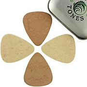 Timber Tones Felt Tones Mixed Tin of 4 Guitar Picks