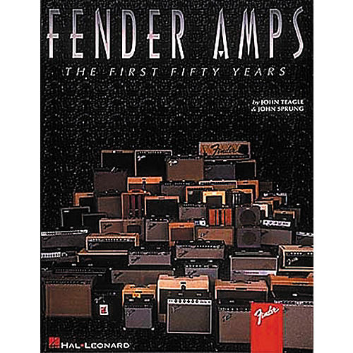 Hal Leonard Fender Amps The First Fifty Years Book-thumbnail