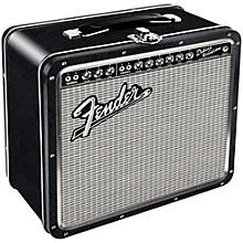Hal Leonard Fender Black Tolex Metal Lunch Box