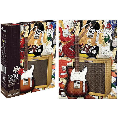Hal Leonard Fender Collage 1,000 Piece Jigsaw Puzzle-thumbnail