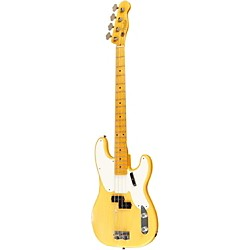 Fender Custom Shop 1955 Precision Bass Relic Electric Bass Guitar Masterbuilt by Dale Wilson (9211000837)