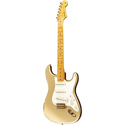 Fender Custom Shop 1955 Stratocaster Relic Ash Electric Guitar Masterbuilt by Dale Wilson (9211000830)