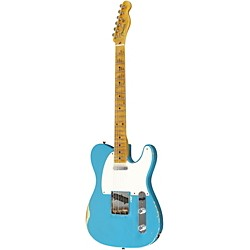 Fender Custom Shop 1955 Telecaster Relic Ash Electric Guitar Masterbuilt by Dale Wilson (9211000829)