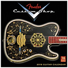 Browntrout Publishing Fender Custom Shop 2018 Wall Calendar