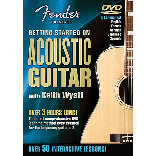 Hal Leonard Fender DVD Package - Getting Started On Acoustic Guitar