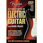 Hal Leonard Fender DVD Package - Getting Started On Electric Guitar