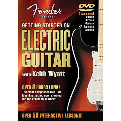Hal Leonard Fender DVD Package - Getting Started On Electric Guitar-thumbnail