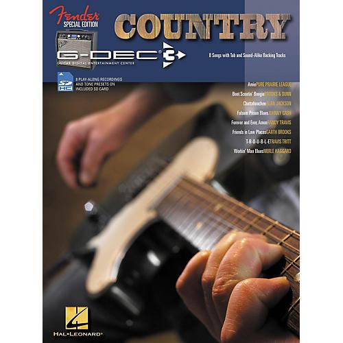 Hal Leonard Fender G-Dec Country Guitar Play-Along Songbook/SD Card