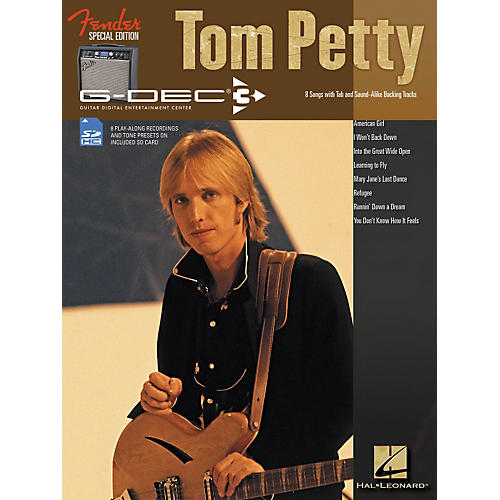 Hal Leonard Fender G-Dec Tom Petty Play-Along Guitar Songbook/SD Card-thumbnail