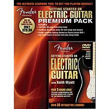 Hal Leonard Fender Presents Getting Started On Electric Guitar Premium Pack Book/CD/DVD