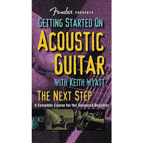 Hudson Music Fender Presents Getting Started on Acoustic Guitar: The Next (VHS)