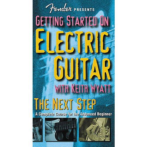 Hudson Music Fender Presents: Getting Started on Electric Guitar - The Next Step (VHS)-thumbnail