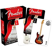 Hal Leonard Fender Stratocaster 60th Anniversary Playing Card Set
