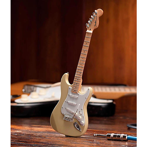 Axe Heaven Fender Stratocaster Classic Cream Miniature Guitar Replica Collectible-thumbnail