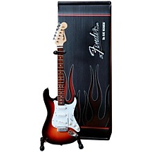 Axe Heaven Fender Stratocaster Sunburst Miniature Guitar Replica Collectible