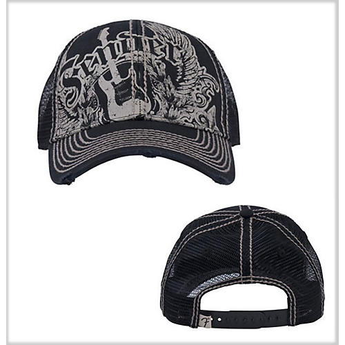 Fender Fender Wings Trucker Cap Black