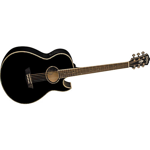 Washburn Festival EA21S Solid Sitka Spruce Top Acoustic Cutaway Electric Guitar with 4 Band EQ