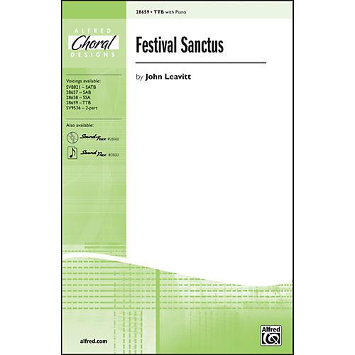 Alfred Festival Sanctus TTB Choral Octavo