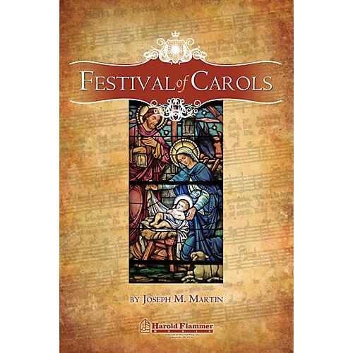 Shawnee Press Festival of Carols (RehearsalTrax Pak) CD 4-PAK Composed by Joseph M. Martin