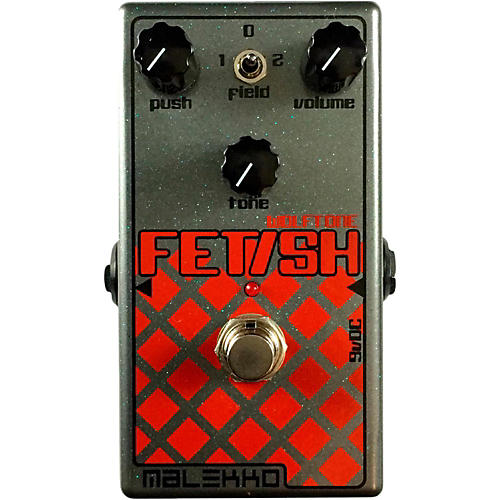 Malekko Heavy Industry Fetish MKII Distortion Guitar Effects Pedal-thumbnail