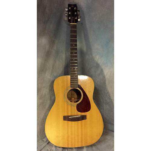 Yamaha Fg160 Acoustic Guitar Natural