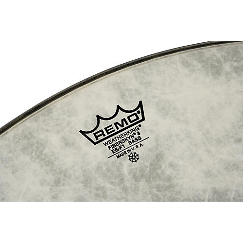 Remo FiberSkyn 3 EE Heavy Bass Drum Head-thumbnail