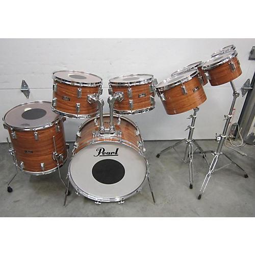 Pearl Fiberglass Drum Kit