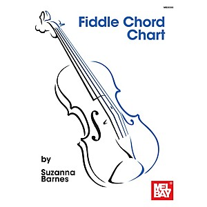 Mel Bay Fiddle Chord Chart by Mel Bay