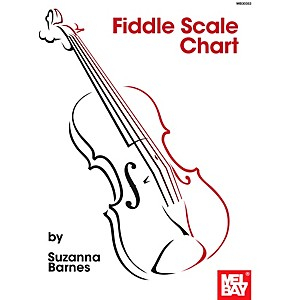 Mel Bay Fiddle Scale Chart by Mel Bay