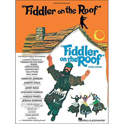 Hal Leonard Fiddler On The Roof Piano/Vocal Selections arranged for piano, vocal, and guitar (P/V/G)-thumbnail