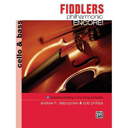 Alfred Fiddlers Philharmonic Encore! Cello & Bass Book-thumbnail