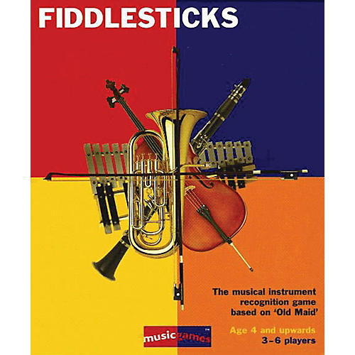 Music Sales Fiddlesticks - Instruments Card Game