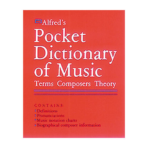 Alfred Fieldstein Pocket Music Dictionary