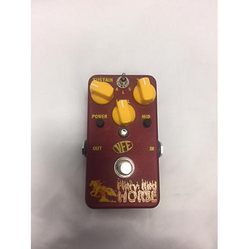 VFE Fiery Red Horse Effect Pedal-thumbnail