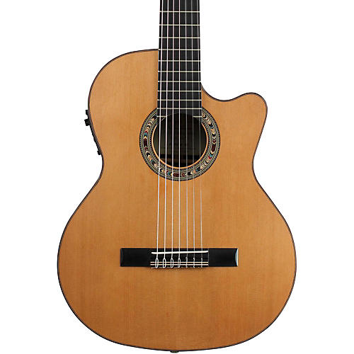 Kremona Fiesta F65CW Left-handed Classical Acoustic-Electric Guitar