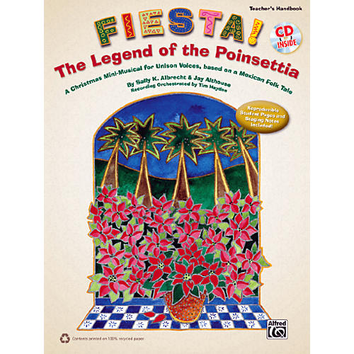 Alfred Fiesta! The Legend of the Poinsettia Book & CD-thumbnail