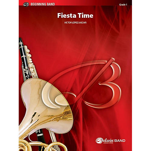 Alfred Fiesta Time Concert Band Grade 1 Set-thumbnail