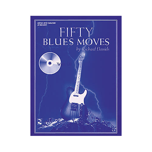 Hal Leonard Fifty Blues Moves (Book and CD Package)