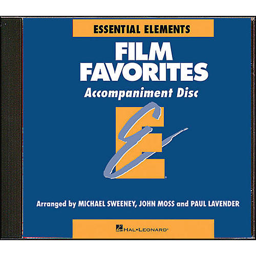 Hal Leonard Film Favorites - CD Accompaniment-thumbnail